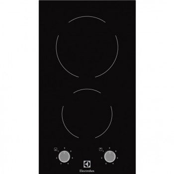 Electrolux Serie 300 EHF3920BOK domino/crystal line